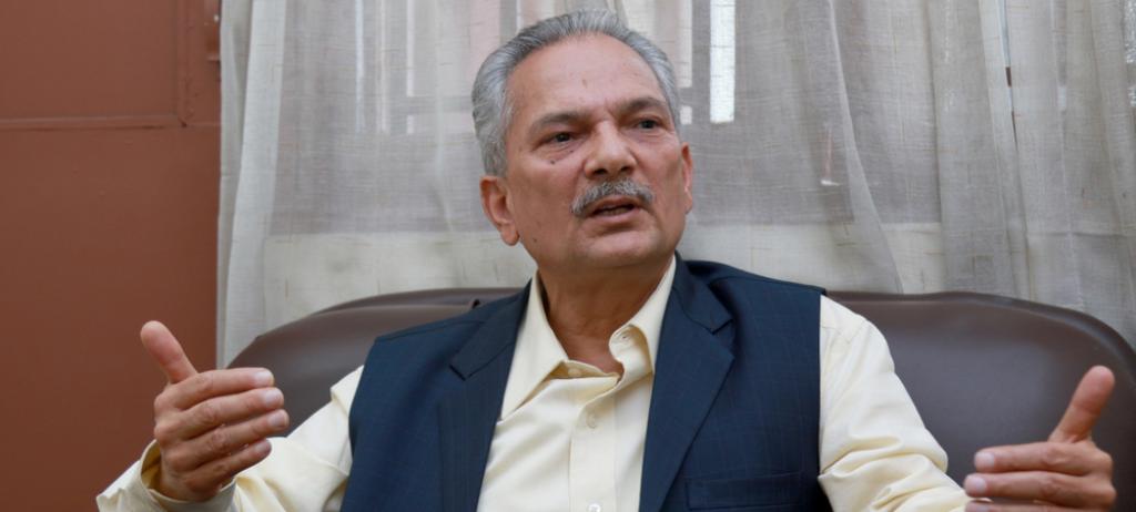डा. बाबुराम भट्टराई भारत जादै