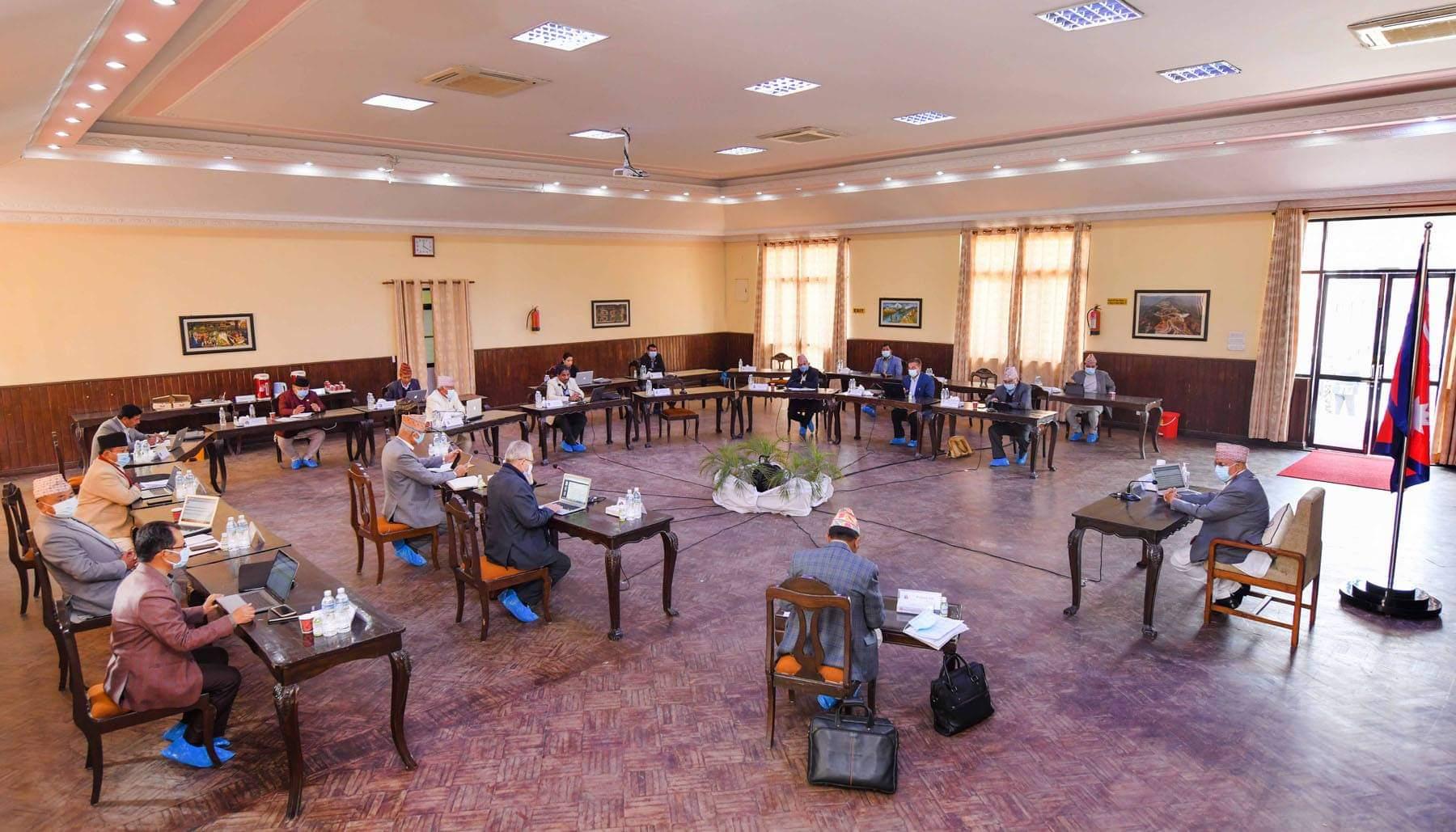 फागुन २३ मा संसद बैठक बोलाउन मन्त्रिपरिषदको सिफारीस