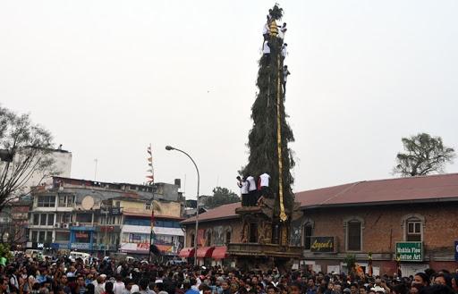 सेतो मच्छिन्द्रनाथको रथयात्रा शुरु