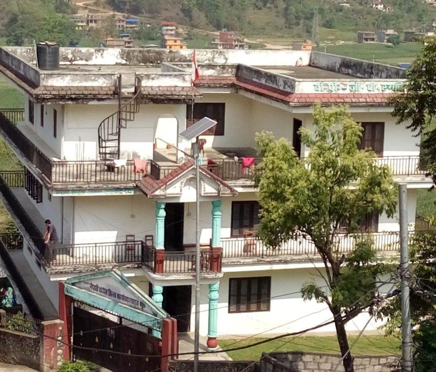 नेपाली कांग्रेस स्याङजाले अस्थायी कोभिड अस्पताल निर्माणका लागि  आफनो पार्टी कार्यालय उपलब्ध गराउने