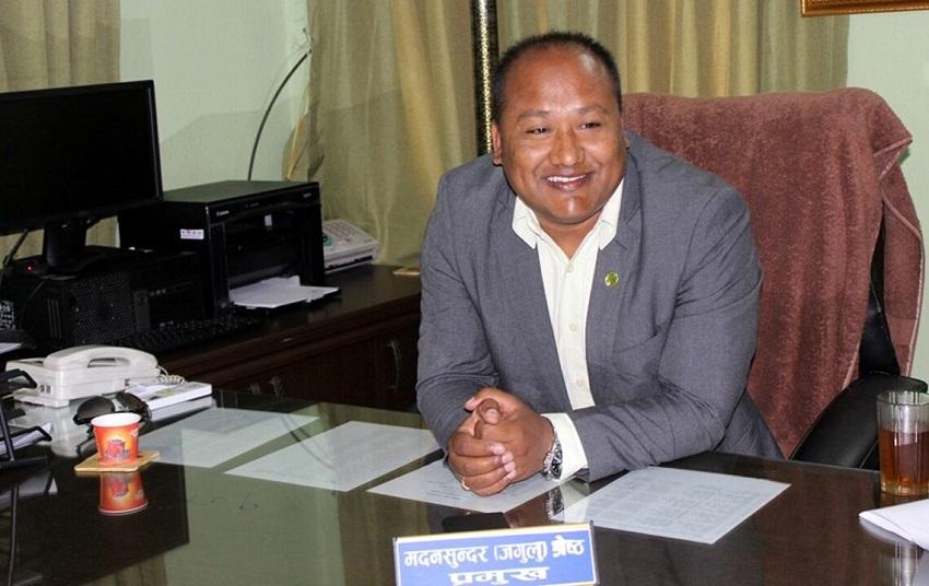 नेपाल भाषा पढाउन माग गर्दै ज्ञापनपत्र पेश