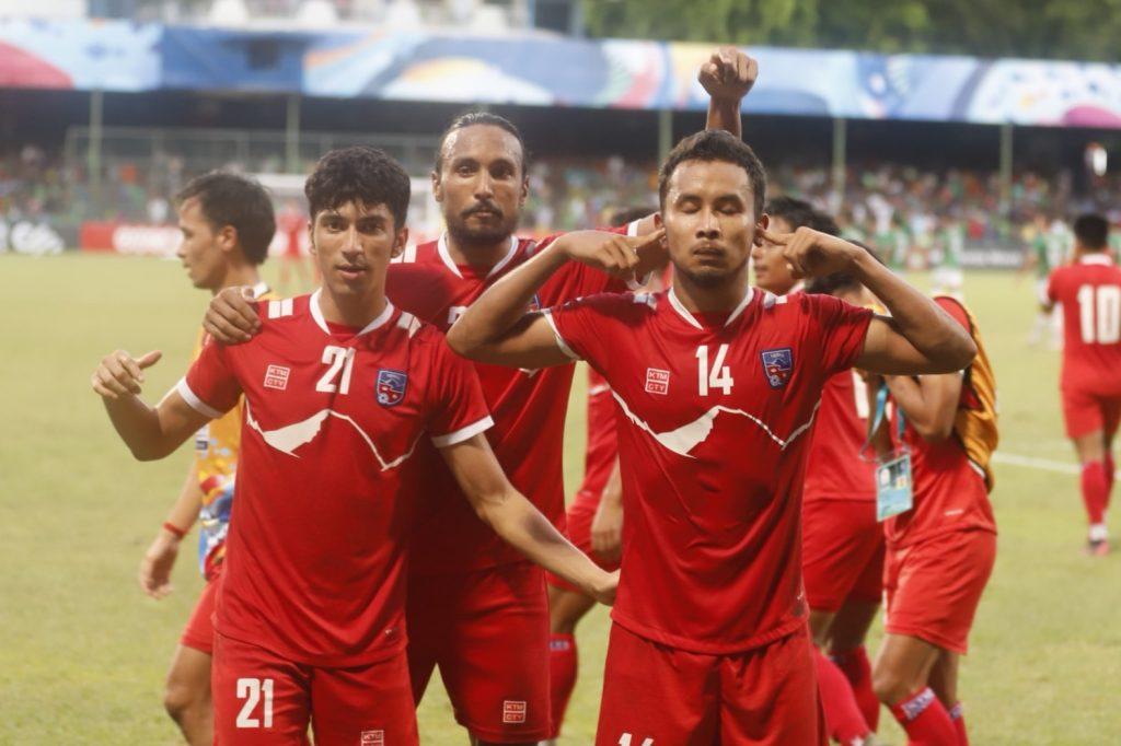 नेपालको पहिलो पटक साफ च्याम्पियनसिप फुटबलको फाइनलमा