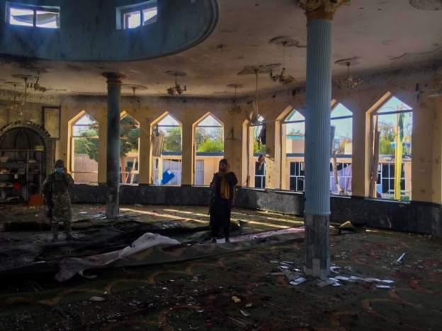 अफगानीस्तानमा मस्जिदमा बम हमला हुदाँ ५० बढिको मृत्यु