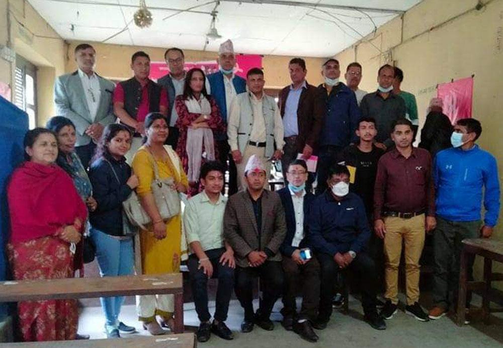 नेकपा(एस) संगठन विस्तारमा व्यस्त, चापागाईको अध्यक्षमा स्याङजा काठमाडौ सम्पर्क मञ्च गठन
